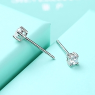 Picture of Efficiency In  Platinum Plated White Stud