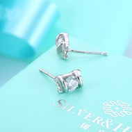 Picture of Low Price White Platinum Plated Stud