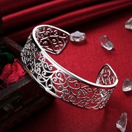 Picture of Sparkling And Fresh Colored Platinum Plated Platinum Plated Bangles