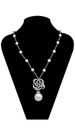 Picture of Promotion Brass Platinum Plated Long Chain>20 Inches