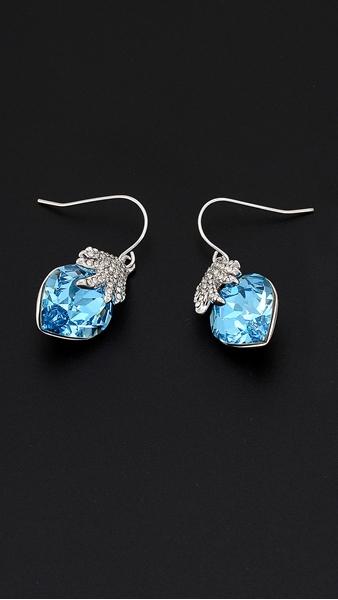 Picture of Believable Heart & Love European Earrings
