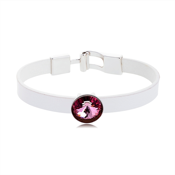 Picture of Swarovski Element Daily Fashion Bangles 2BL052290B