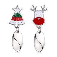Show details for  Simple Medium Stud Earrings 3LK053827E