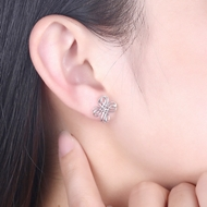 Picture of 925 Sterling Silver Small Stud Earrings at Great Low Price