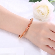 Picture of Charming Red Gold Plated Cuff Bangle As a Gift
