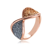 Picture of Casual Rose Gold Plated Fashion Ring of Original Design