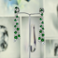 Picture of Casual Big Dangle Earrings with Fast Delivery