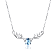 Show details for Fashion Platinum Plated Pendant Necklace with 3~7 Day Delivery
