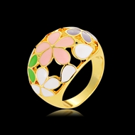 Picture of Bulk Gold Plated Colorful Fashion Ring Exclusive Online