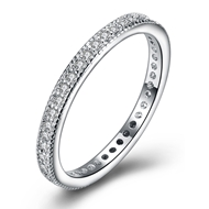 Picture of Amazing Cubic Zirconia White Fashion Ring