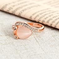 Picture of Believable Pink Opal (Imitation) Fashion Rings
