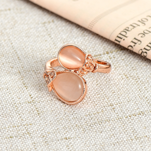 Picture of Low Price Rose Gold Plated Opal Fashion Ring from Trust-worthy Supplier