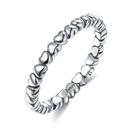Picture of Recommended Platinum Plated 925 Sterling Silver Fashion Ring from Top Designer