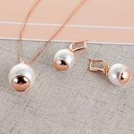 Picture of Dubai Casual Necklace and Earring Set with Fast Shipping