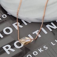 Picture of Low Cost Rose Gold Plated Fashion Pendant Necklace with Low Cost