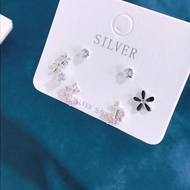 Picture of Origninal Casual Platinum Plated Stud Earrings