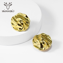 Picture of Shop Zinc Alloy Gold Plated Stud Earrings with Wow Elements