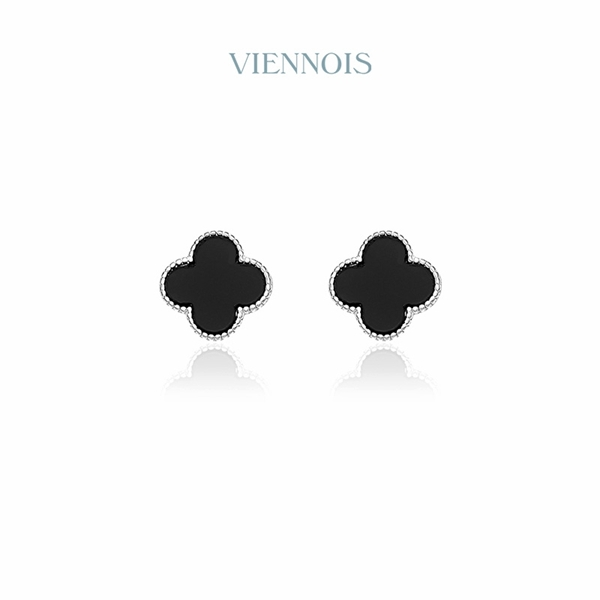 Picture of Inexpensive Platinum Plated Enamel Stud Earrings from Reliable Manufacturer