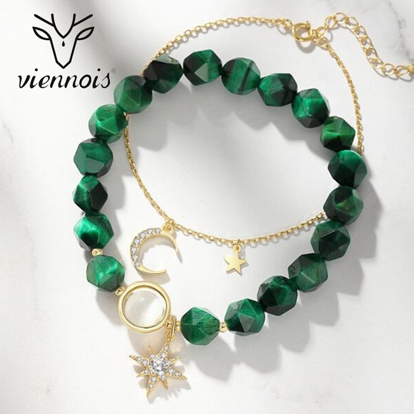 Picture of Most Popular Artificial Crystal Small Charm Bracelet