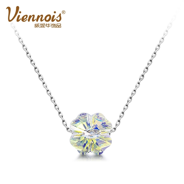 Picture of Bulk Platinum Plated Classic Pendant Necklace with No-Risk Return