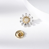 Picture of Featured White Delicate Brooche for Girlfriend
