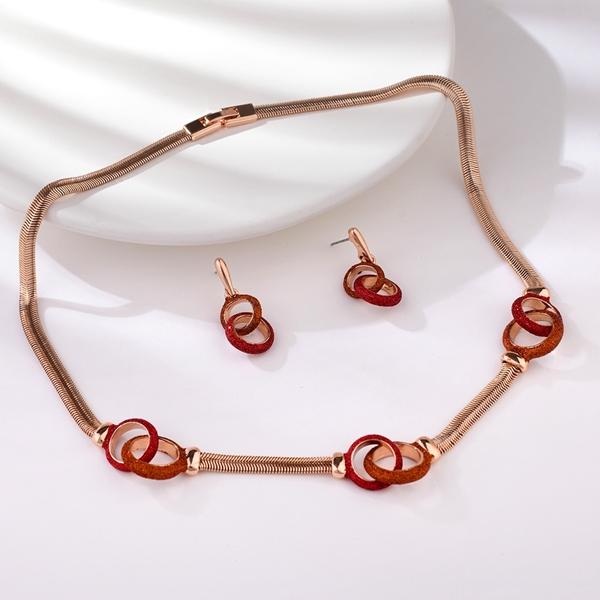 Picture of Beautiful Medium Dubai 2 Piece Jewelry Set