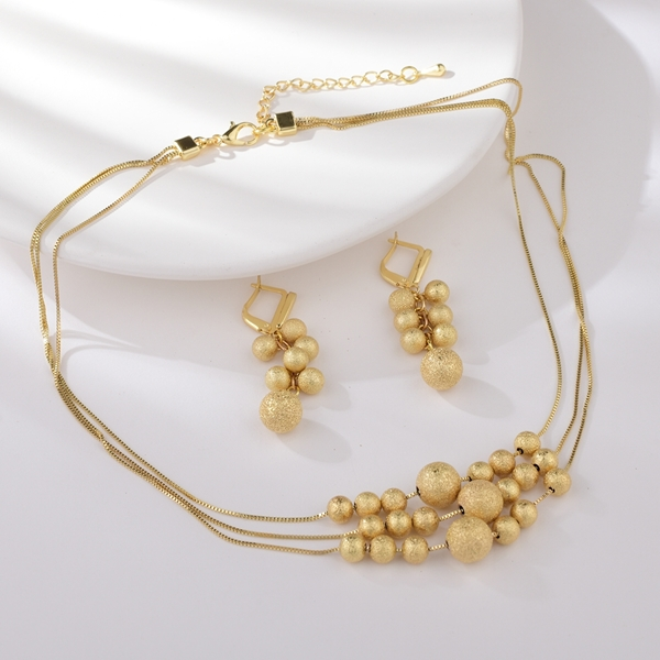 Picture of Purchase Gold Plated Zinc Alloy 2 Piece Jewelry Set Exclusive Online