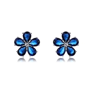 Picture of Luxury Cubic Zirconia Stud Earrings with Full Guarantee