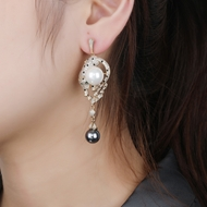 Picture of Luxury Copper or Brass Dangle Earrings with Fast Delivery