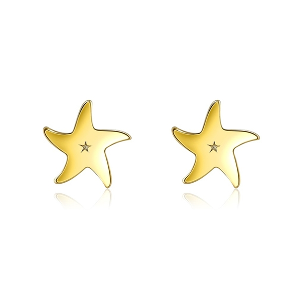 Picture of 925 Sterling Silver Small Stud Earrings with Fast Shipping
